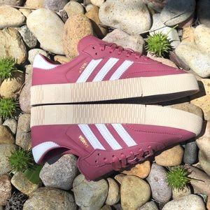 Adidas Sambarose Trace Maroon